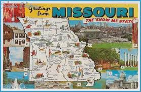 missouri map images missouri map tourist attractions travelsfinders