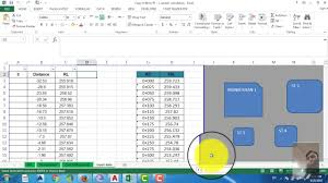 autocad tutorial with exle how to draw road cross section using excel and autocad autocad