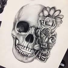 the 25 best skulls and roses ideas on pinterest skull and rose