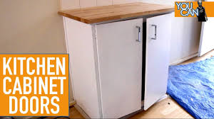 Damaged Kitchen Cabinets For Sale How To Upgrade Kitchen Cabinet Doors Youtube