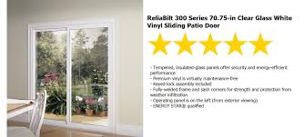 Flashing Patio Door by Patio Door Installation Reliabilt Series 300 Sliding 6 Ft Rb