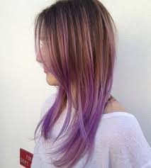 fine hair ombre 22 hot hair color ideas lavender ombre hair purple ombre