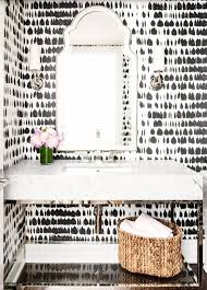 Modern Wallpaper For Bathrooms Appealing Powder Room Wallpaper Contemporary Best Ideas Exterior