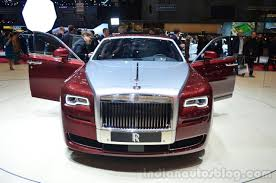 rolls royce door rolls royce ghost series ii front with door open geneva live