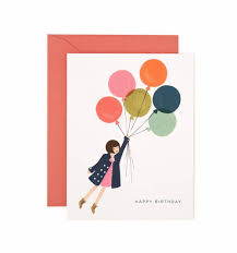 greeting card fly away greeting card by rifle paper co made in usa