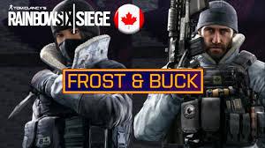 frost u0026 buck new rainbow six siege operators operation black