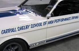 mustang carroll shelby an amazing carroll shelby relic a 1965 shelby mustang gt350 used