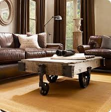 Pottery Barn Griffin Coffee Table Coffee Table With Wheels Pottery Barn Thesecretconsul Com