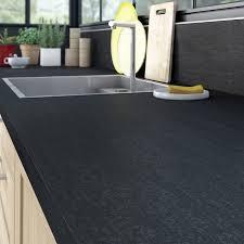 plan de travail cuisine en naturelle plan de travail 65 cm avec plan de travail noir cuisine naturelle