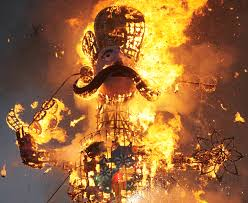 dussehra celebrated with charm enthusiasm