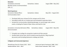 Sample College Graduate Resume College Resume Sample Cv Resume Ideas