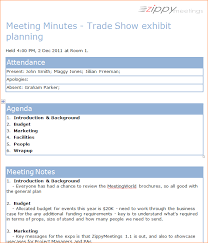 3 format for meeting minutes outline templates