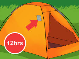 How To Build A Tent by How To Patch A Tent 14 Steps With Pictures Wikihow