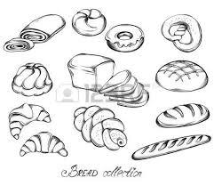 bread clipart drawn pencil and in color bread clipart drawn