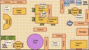 Student Center Floor Plan by Preschool Classroom Floor Plan Ideas Youtube