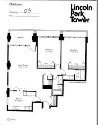 Park West Floor Plan by 1960 Lincoln Park West Floorplans