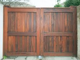 Wooden Gates And Timber Gate Design Gates  Fences Pinterest - Backyard gate designs