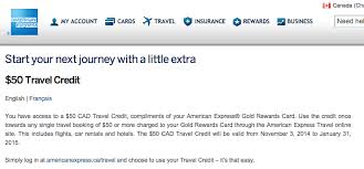 Business Gold Rewards Card From American Express 50 Travel Credit With The Canadian American Express Gold Rewards