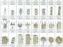 clasps necklace types images 54 vintage clasps for necklaces 5 sets antique silver hook clasps jpg