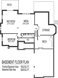2 bedroom house plans with basement 4 bedroom house plans 2 story