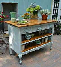 Mobile Kitchen Island Table by Best 25 Farmhouse Kitchen Island Ideas On Pinterest Kitchen