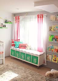 window seat ikea hack bookmark this ikea nursery hack to make a bench for your kid s room