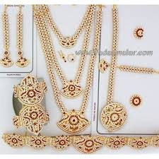 kuchipudi ornaments jewelry white and stones