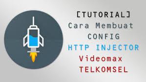 config kuota videomax masih aktif cara membuat payload config http injector videomax telkomsel terbaru