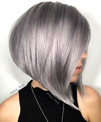 silver hair a line silver bob 17 silver hair looks that will make you want to