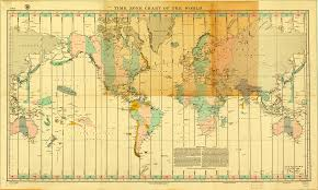 World Map Time Zone by Map Time Zone Chart Of The World 1927 U2013 It Used To Take Mind