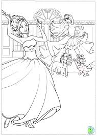 barbie colour pictures colouring pages arterey
