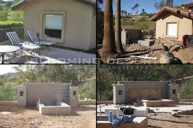 Outdoor Kitchens Arizona Paradise Valley Landscaping Case Study Blooming Desert