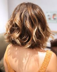 vies of side and back of wavy bob hairstyles 20 best short wavy haircuts for women popular haircuts