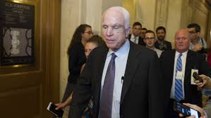 Russia Assad Deliver Blow To by Mccain Votes No Dealing Potential Death Blow To Republican Health