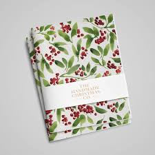 luxury christmas wrapping paper berries leaves white luxury wrapping paper handmade christmas co