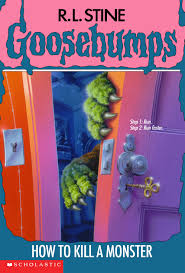 printable goosebumps bookmarks how to kill a monster goosebumps wiki fandom powered by wikia