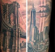 60 bridge tattoos for york city design ideas