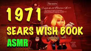 wish catalog asmr 1971 sears wish book part 1