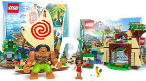 2 lego moana sets island adventure 41149 ocean voyage 41150 kids