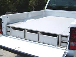 Plans For A Platform Bed With Storage Drawers by How To Install A Truck Bed Storage System How Tos Diy