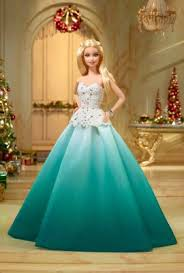 barbie 2016 holiday doll aqua gown dgx98 barbie