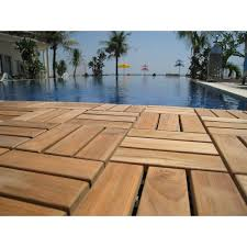 bare decor ez floor interlocking flooring tiles in solid teak wood