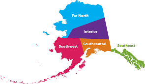 State Of Alaska Map by Alaska Region Map U2013 Ixsz