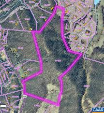 Map Of Charlottesville Va 4 For Sale Ragged Mountain Farm Subdivision