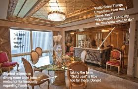 Donald Trump Is A Living McMansion And Other Design Catastrophes - Trump home furniture