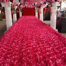 petal aisle runner hot pink 3d petal aisle runner carpet 1 4m wide 10 m lot