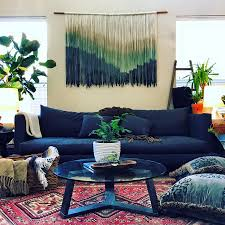 boho home decor boho chic orange living room ideas with boho home