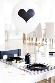 black and white table settings 26 timeless black and white party ideas shelterness