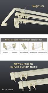 Curved Curtain Track System by Curtains Flexible Shower Curtain Track Curtain Track Walmart