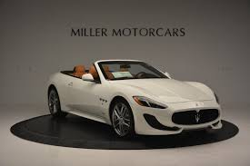used maserati granturismo for sale 2017 maserati granturismo convertible sport stock m1640 for sale
